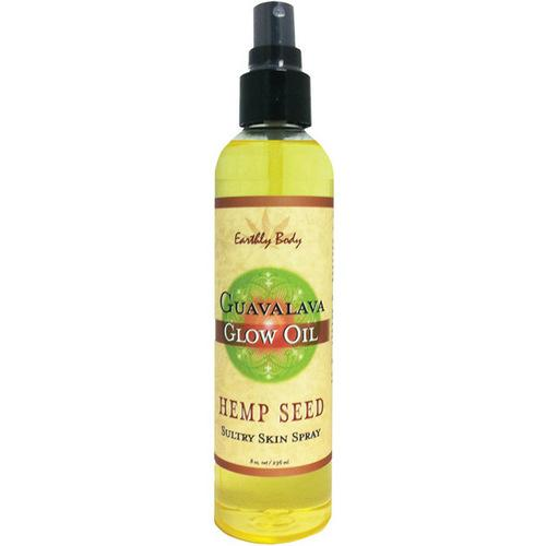 Earthly Body Moisturizing Oil Spray - 8 oz Guavalava