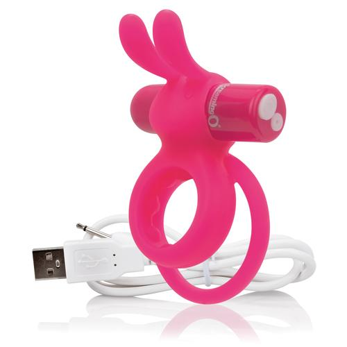Charged Ohare Rechargeable Rabbit Vibe - Pink