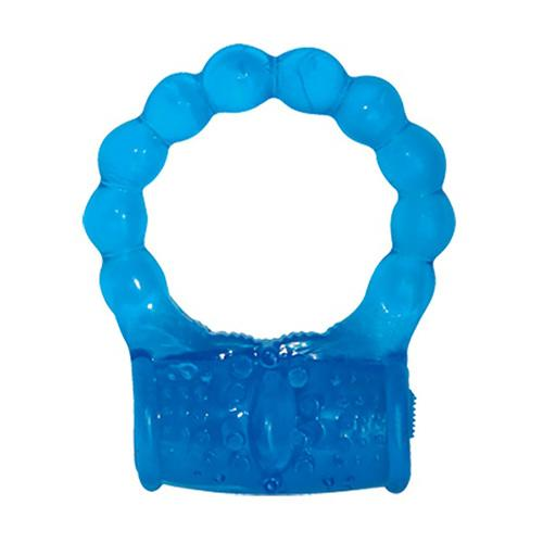 Reuseable Cock Ring - Blue