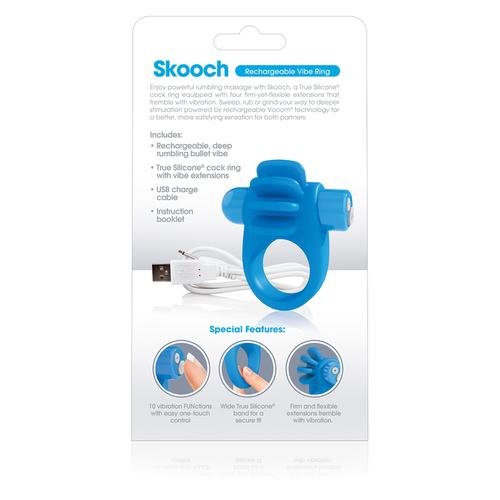 Charged Skooch Ring - Blue