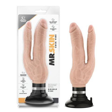 Dr. Skin Cock Vibes Double Vibe - Beige