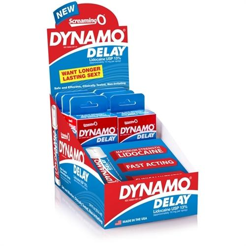 Dynamo Delay Spray - 6 Count Display