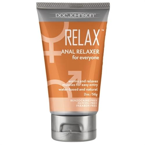 Relax - Anal Relaxer for Everyone - 2 Oz. - Bulk