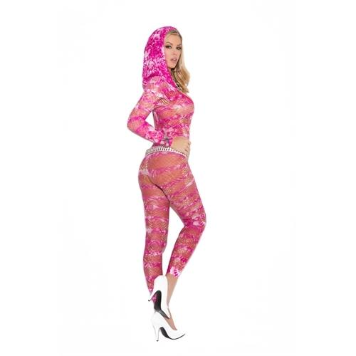 Body Stocking With Hood - One Size