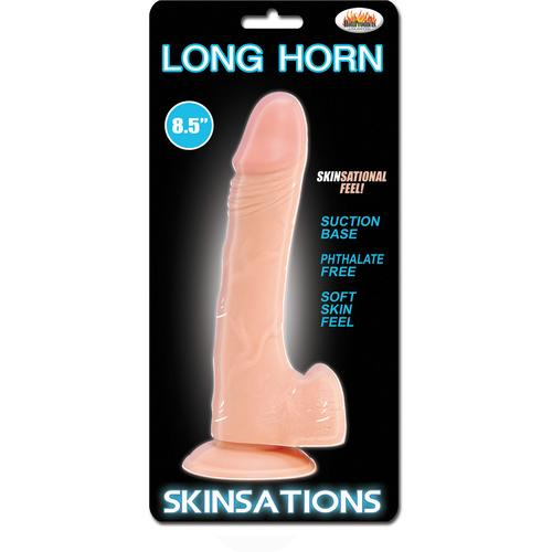 Skinsations Long Horn - 8.5 Inches