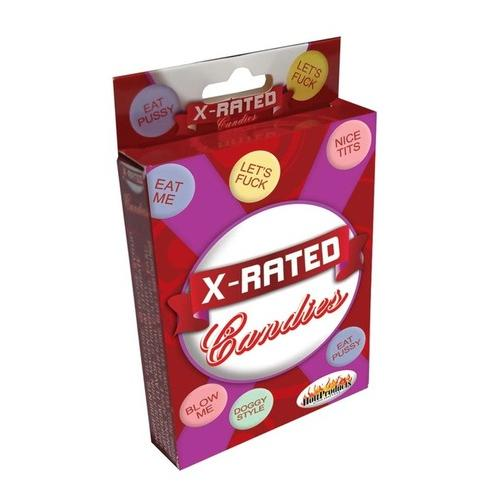 X-Rated Candy With Assorted Sayings - 24 Piece Display