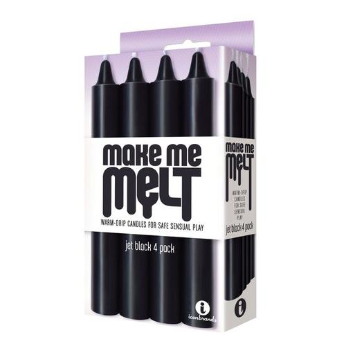 Make Me Melt - Jet Black 4 Pack