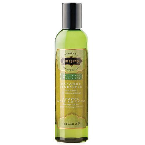 Kama Sutra Naturals Massage Oil - Coconut Pineapple