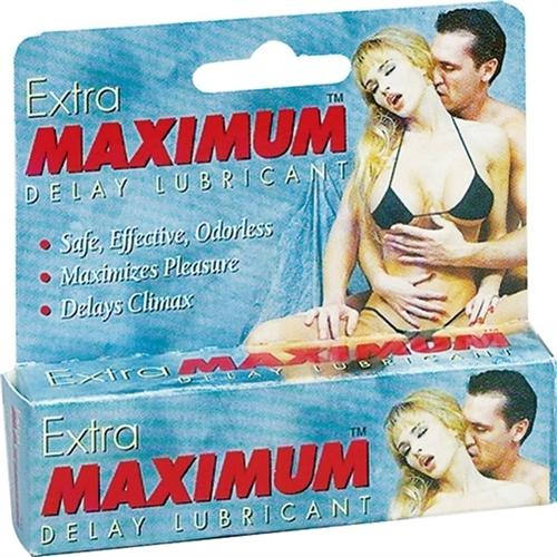Extra Maximum Delay Lube Small