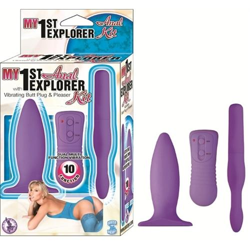 My 1st Anal Explorer Kit - Lavender