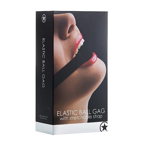Elastic Ball Gag- Black
