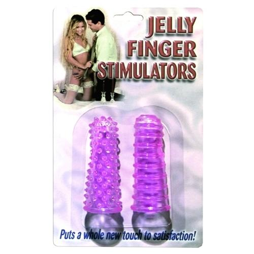 Jelly Finger Stimulator - Purple