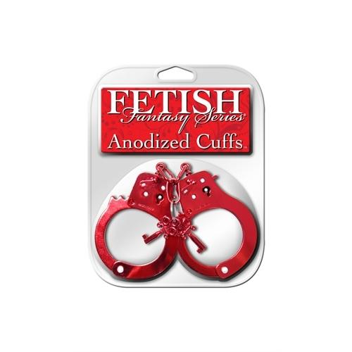 Fetish Fantasy Anodized Cuffs - Red