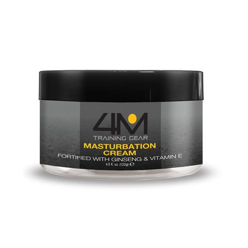 4M Training Gear Endurance Masturbation Cream w/Ginseng - 4.5 oz