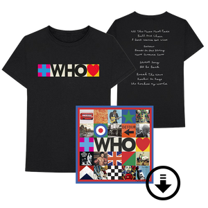 WHO Album Tracklist T-Shirt + Digital Album