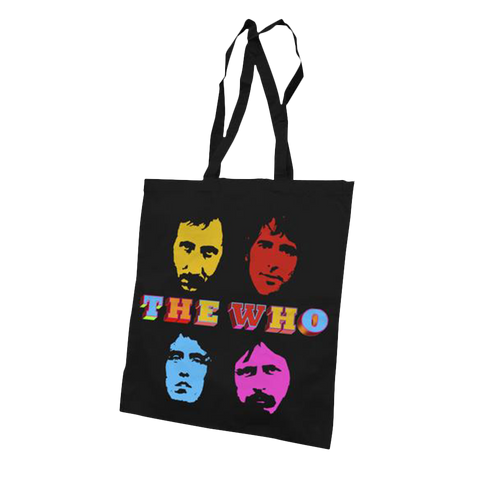 Four Faces Tote Bag
