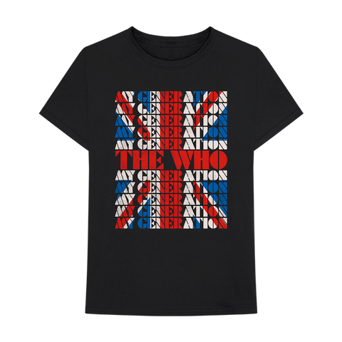 My Generation Union Jack T-Shirt
