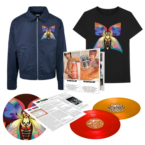 The Who Sell Out Color 2LP + Sell Out T-Shirt + Sell Out Slipmat + Sell Out Work Jacket