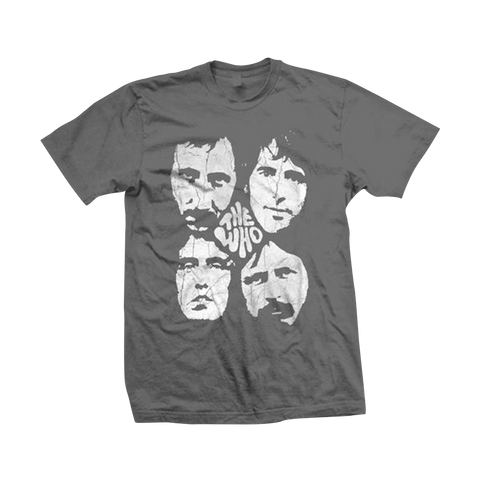 The Who Distressed Four Faces T-Shirt