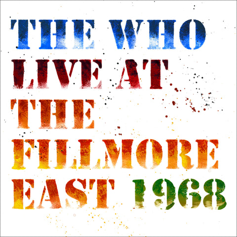 Live at the Fillmore East 2CD