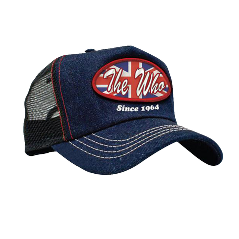 The Who Since 1964 Trucker Denim Hat