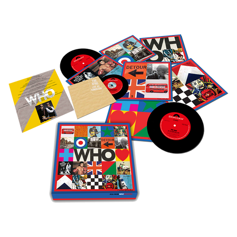 "WHO 7"" Box Set w/ Live at Kingston CD"