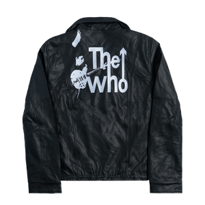 The Who Faux Leather Jacket