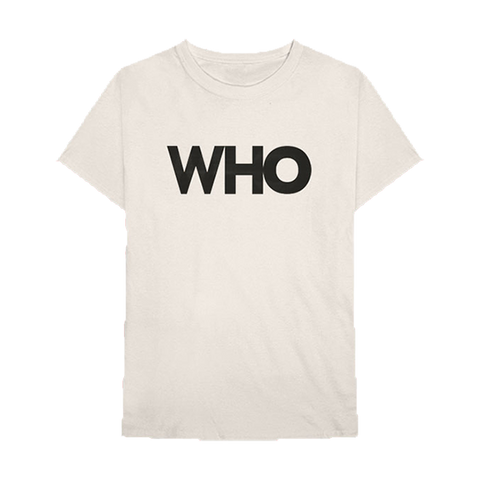 WHO Album Logo T-Shirt