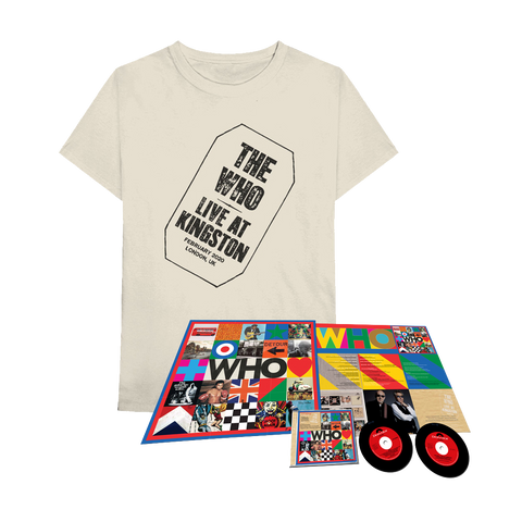 WHO Deluxe CD w/ Live at Kingston + T-Shirt Bundle