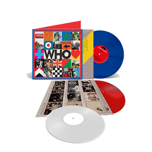 WHO Deluxe Triple Color Exclusive 3LP