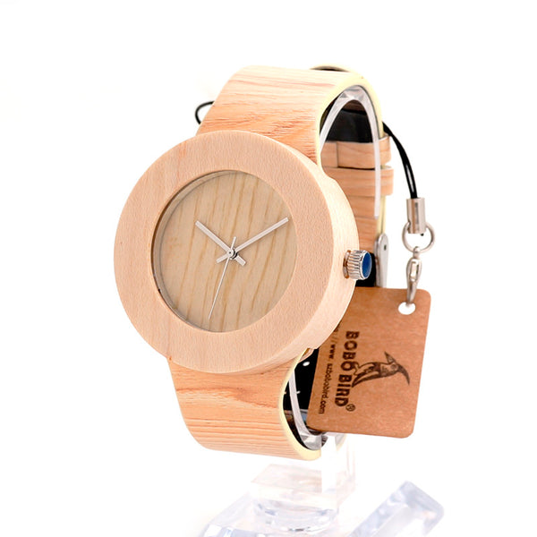 BOBO BIRD Natural Pine Wood - In Style Bangles