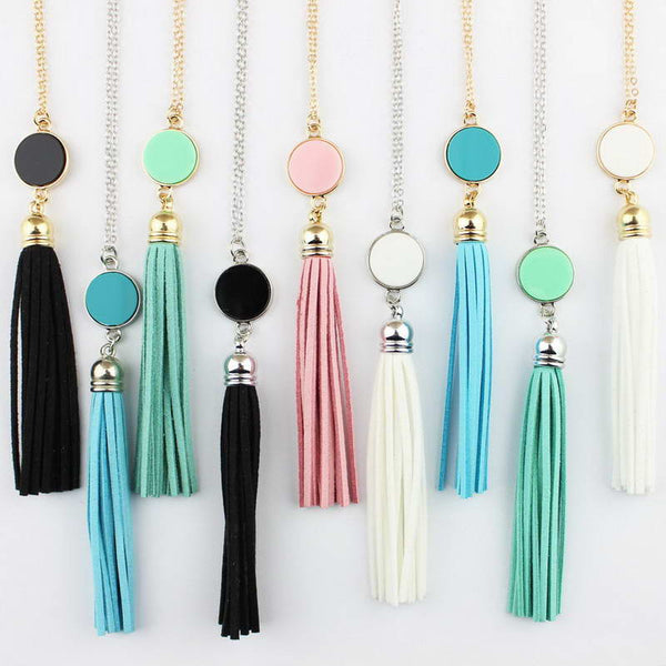 Colorful BOHO Tassel Necklace - In Style Bangles