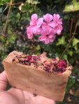 Rose Water, Pink Clay & Rose Geranium