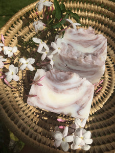 Jasmine, Purple & Kaolin Clay