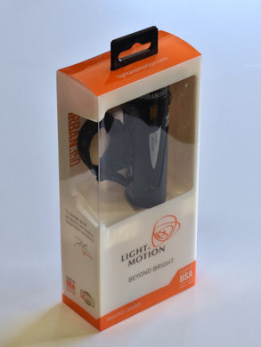 Light and Motion Urban 350 Obsidian Stout Headlight