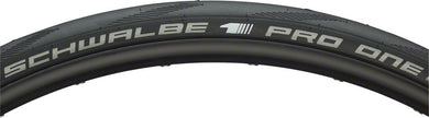 Schwalbe Pro One Tire 700 x 28, Folding Bead, Evolution Line, OneStar Compound, MicroSkin, Tubeless Easy, Black