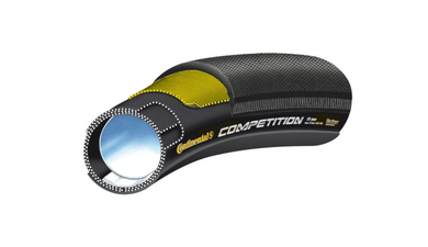 Continental Competition Tubular Tire 700x25mm Black Chili