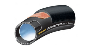 Continental Sprinter Tubular Tire 700x25mm Black Chili