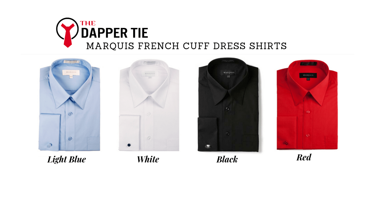 french cuff button dress shirts