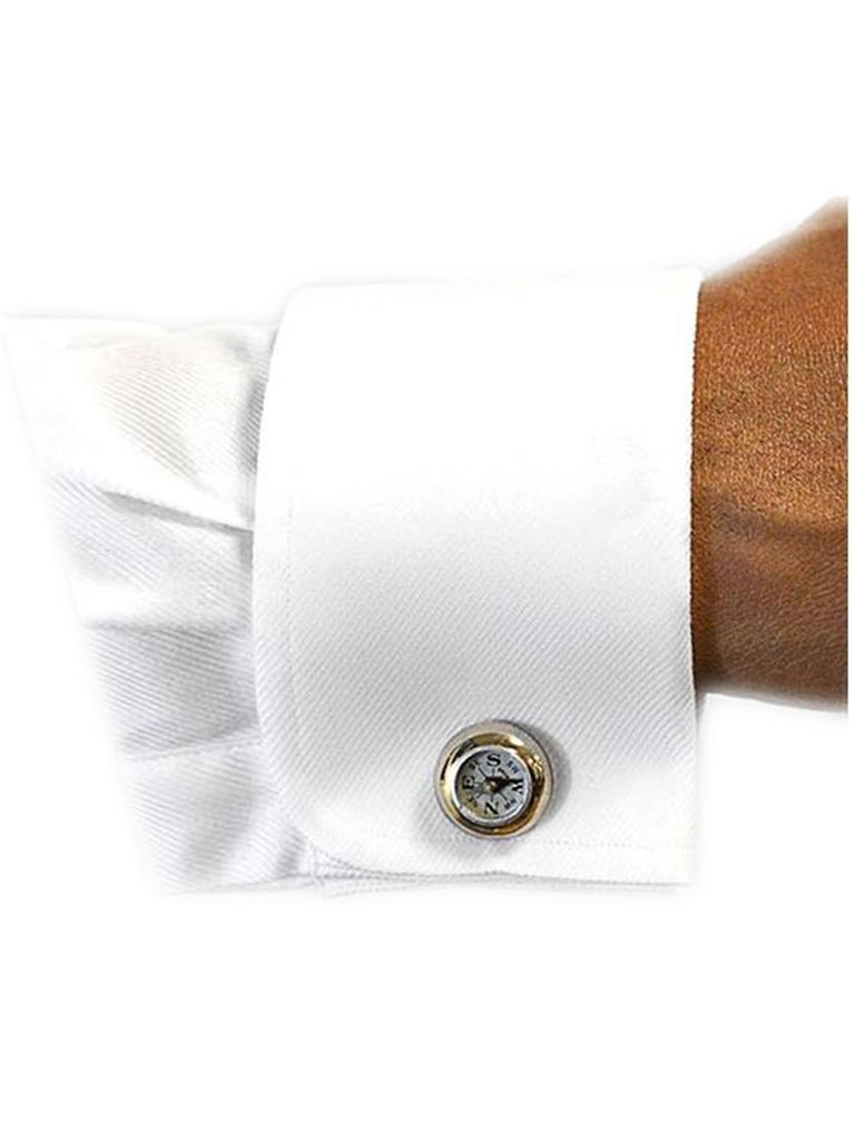 Textured Slim Fit French Cuff Laydown 100% Cotton Tuxedo Shirt
