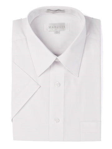 Short Sleeve Solid Dress shirt