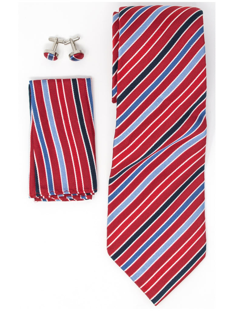 Red, White And Navy Stripes