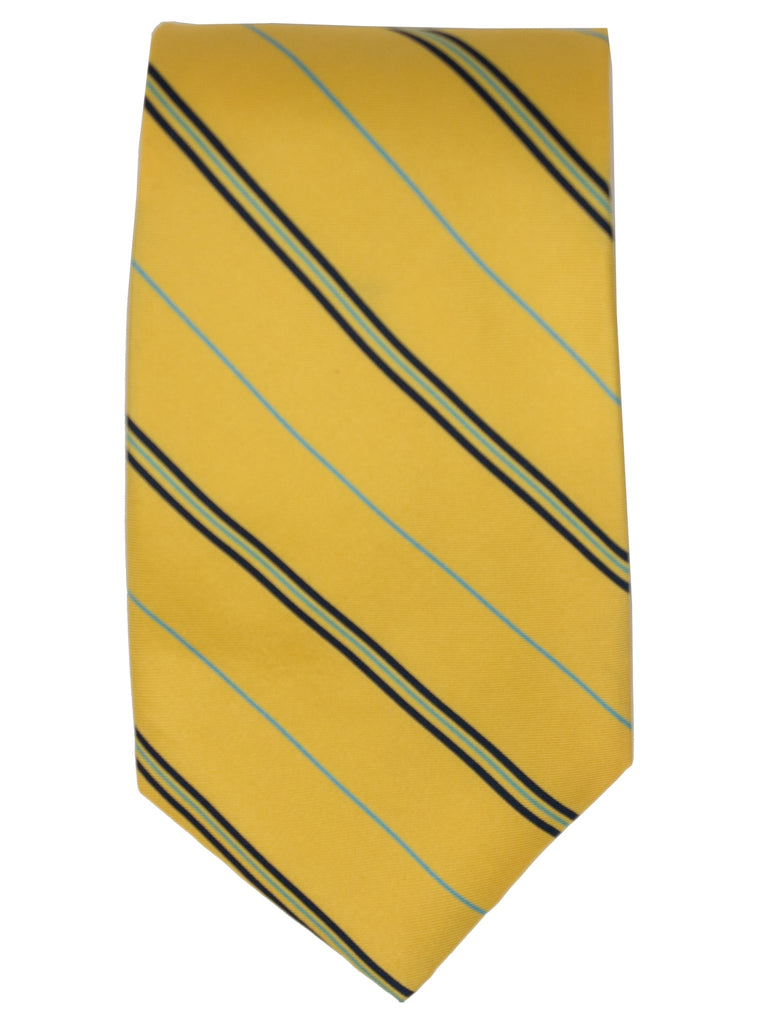Yellow And Navy Stripes