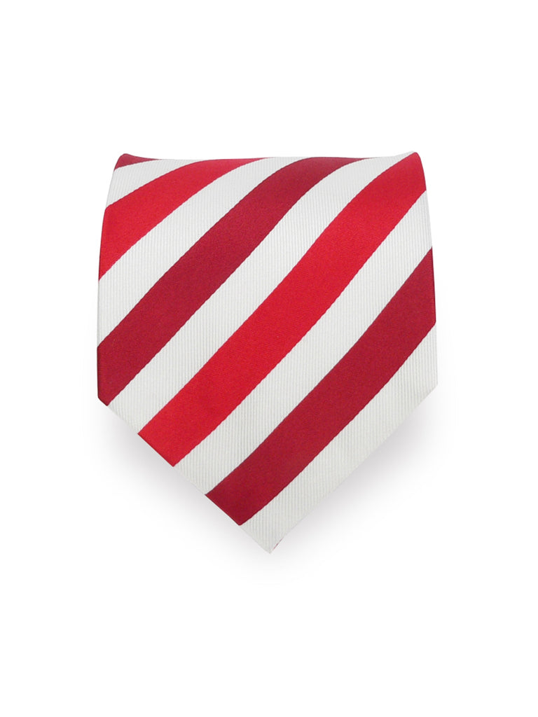 Striped Red And White