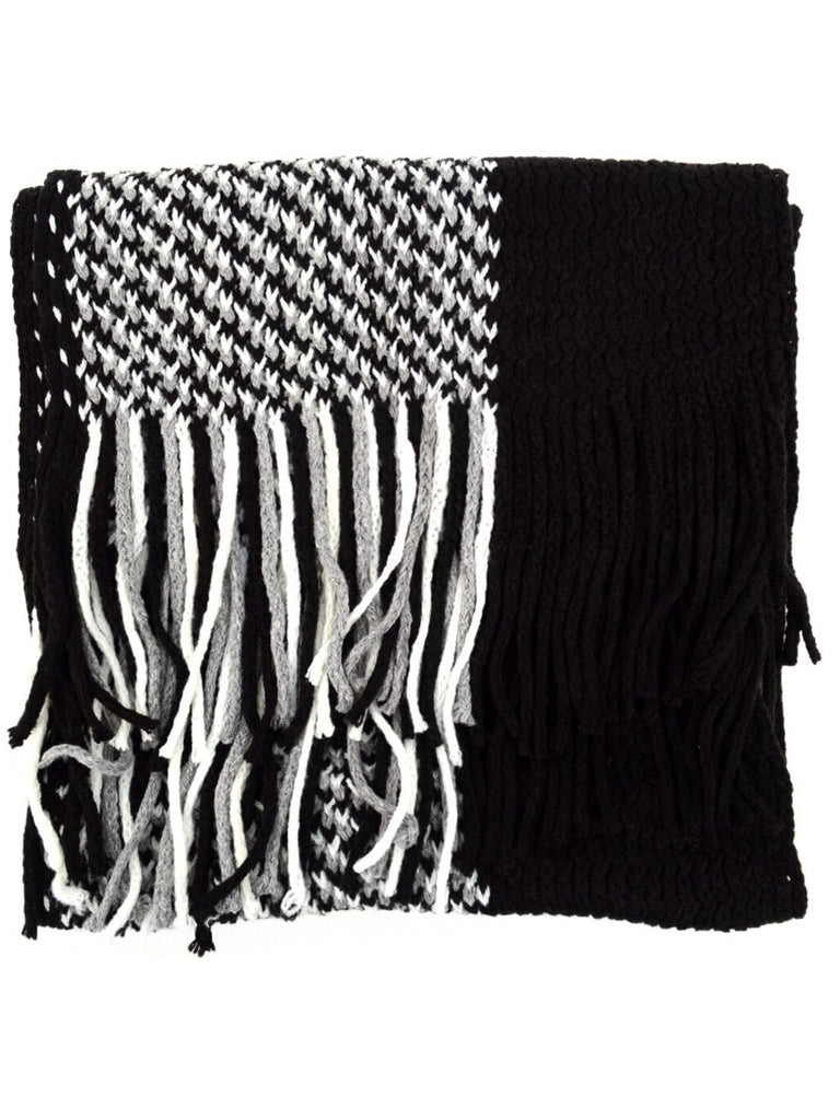 100% Acrylic Knit Scarf and Hat Set