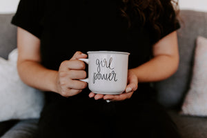 Girl Power Campfire Mug