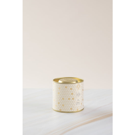 Scented Candle in Gold Tin
