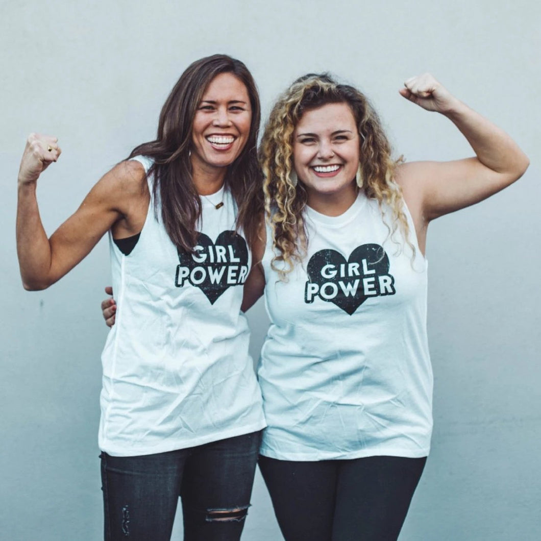 Girl Power Tank Tops