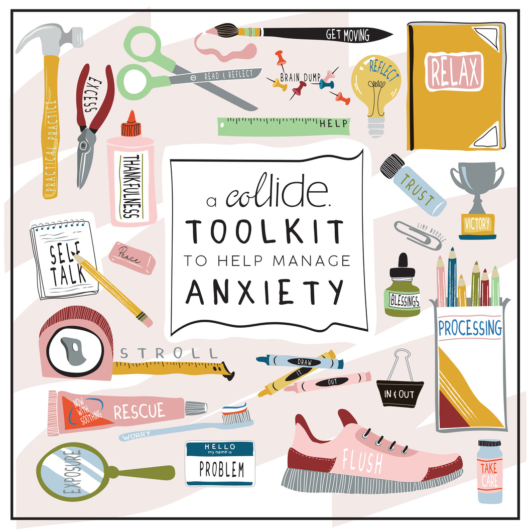A Collide 5 Week Guide to Help Manage Your Anxiety