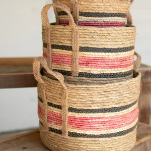 Round Rush Baskets
